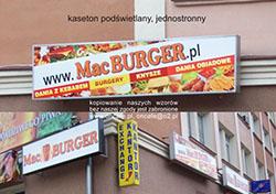 Kasetony reklamowe Litery 3D