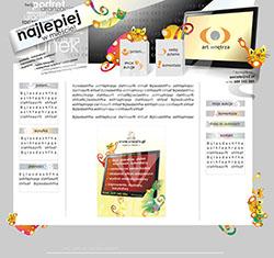 Strony www internetowe
